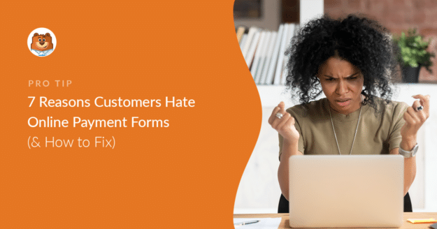 Complaints about online payment forms