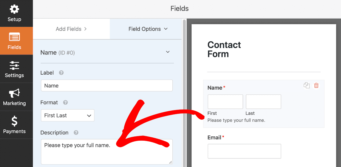Customize your Elementor contact form fields