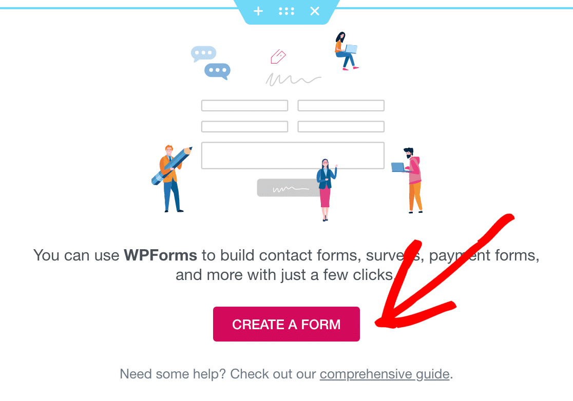 Elementor create a form