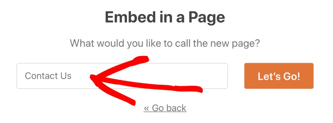 Embed WordPress Salesforce form on a page