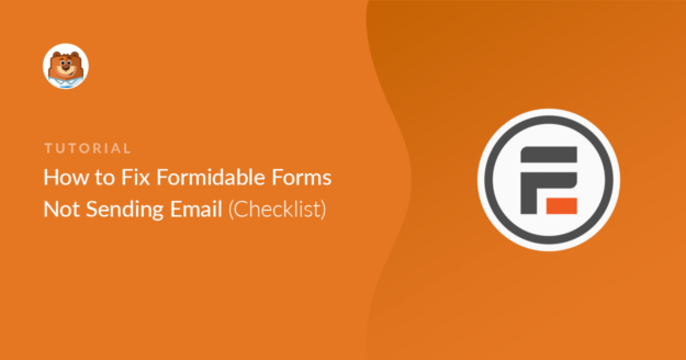 Formidable Forms not sending email