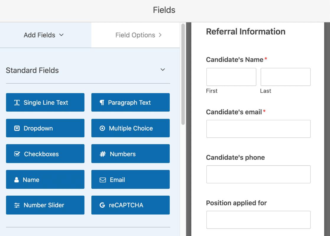 Edit refer-a-friend form in WordPress