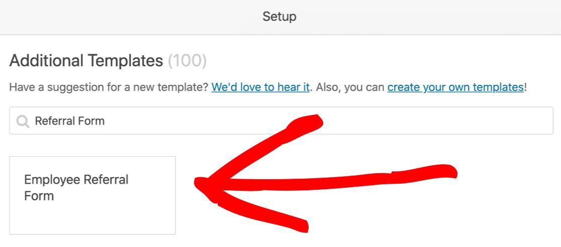 Refer-a-friend template in WordPress