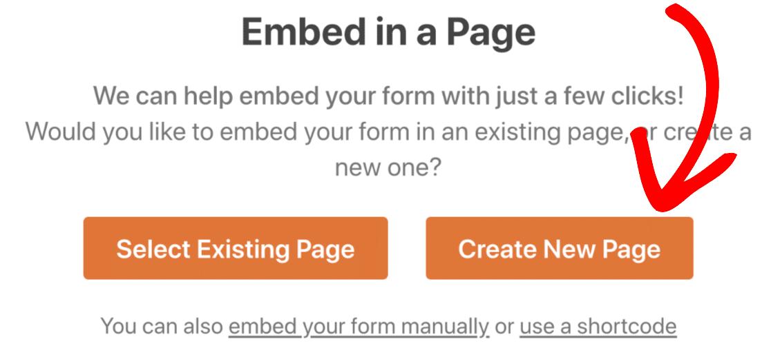 Create new page for Slack auto invite form