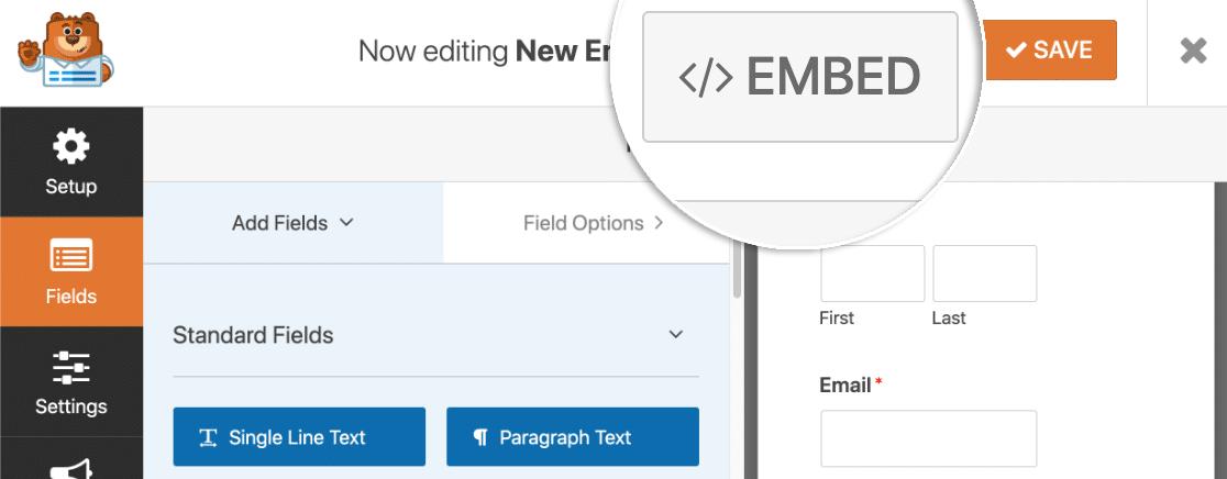 Embed Slack auto invite form in WordPress