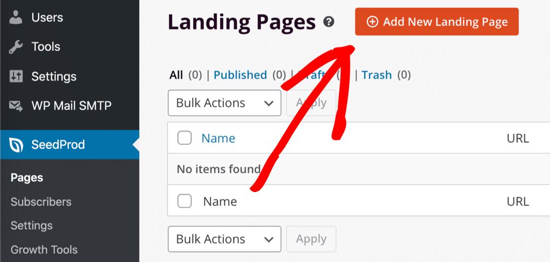 Add webinar landing page in WordPress