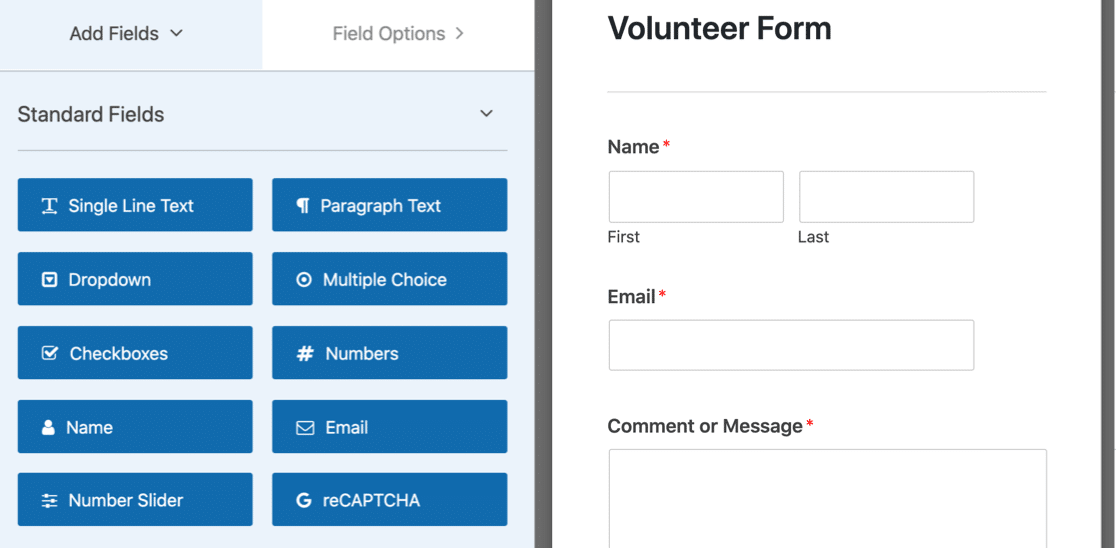 Build new form for multi select dropdown field