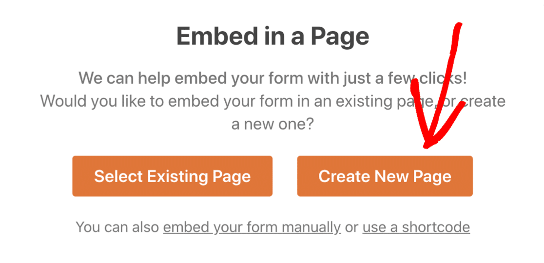 Create WordPress page for custom Drip signup form