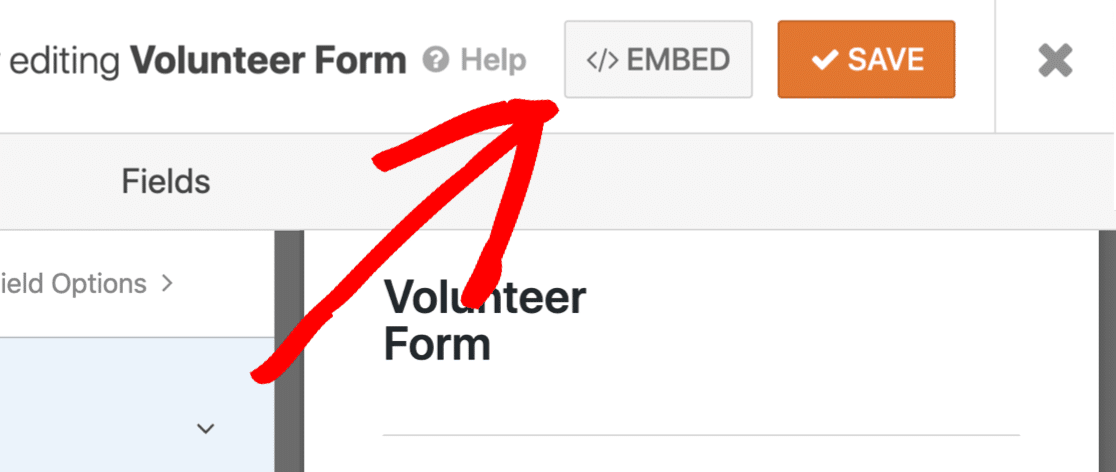 Embed your multi select dropdown form