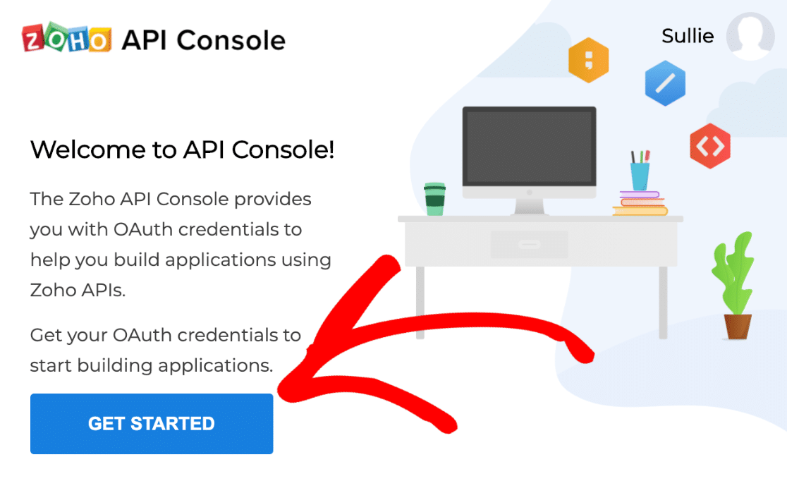 Get started with Zoho Mail API