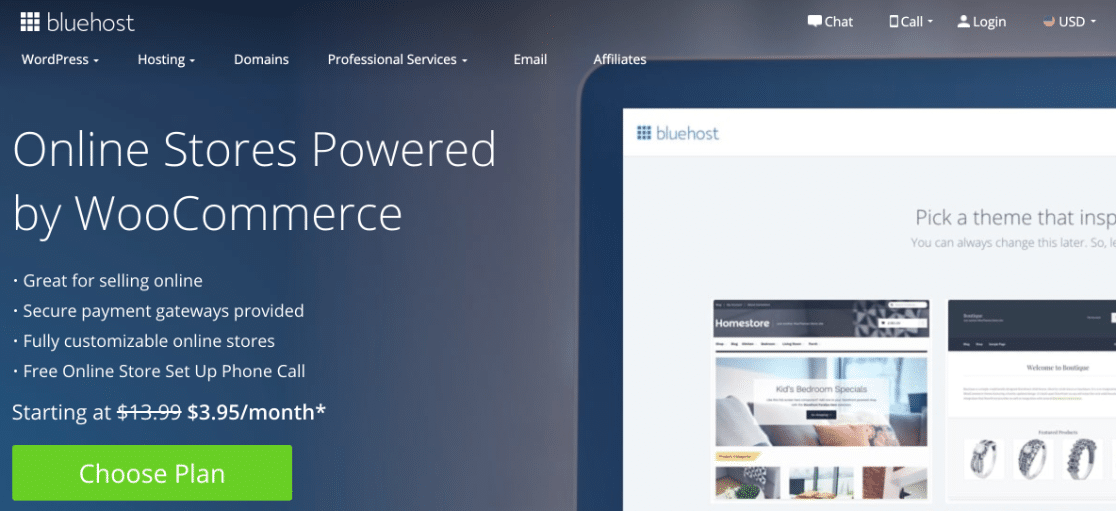 How to start an online store with Bluehost