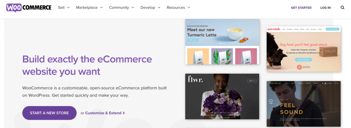 Start an online store with WooCommerce