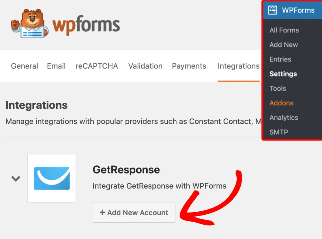 How To Install And Use The Getresponse Addon With Wpforms
