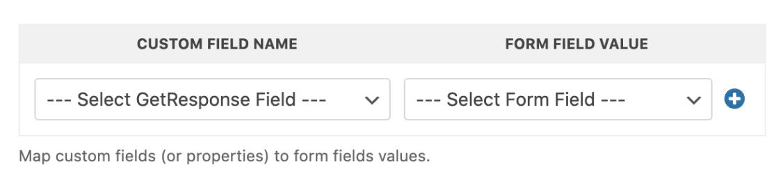 Custom Fields in GetResponse