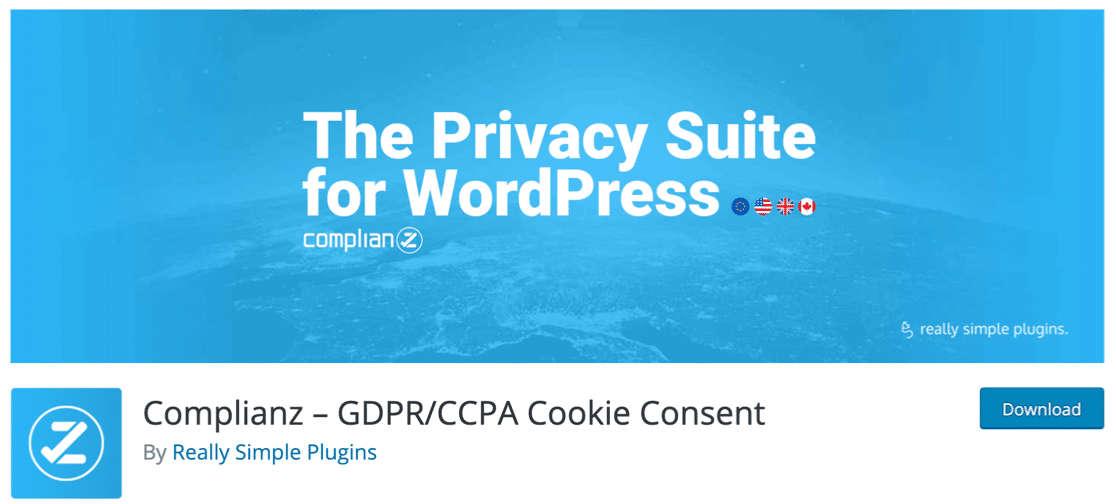 Complianz GDPR WordPress plugin