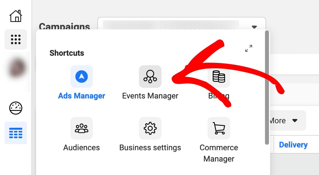 Set up Facebook Pixel in Facebook Events Manager