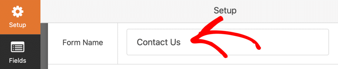GDPR contact form name