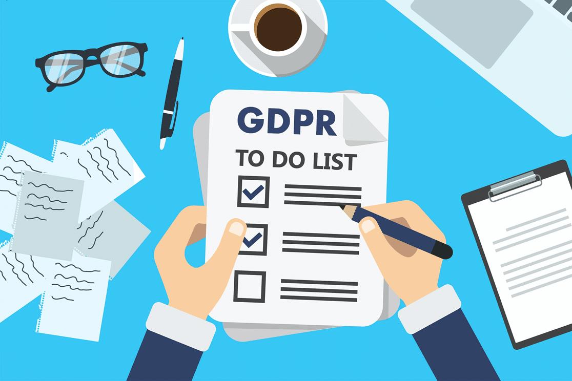 GDPR form to-do list