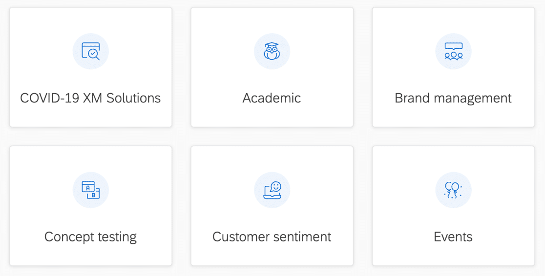 Make a new project in Qualtrics