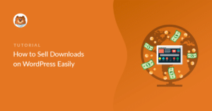 Sell downloads on WordPress