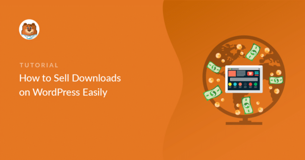 Sell downloads on WordPress