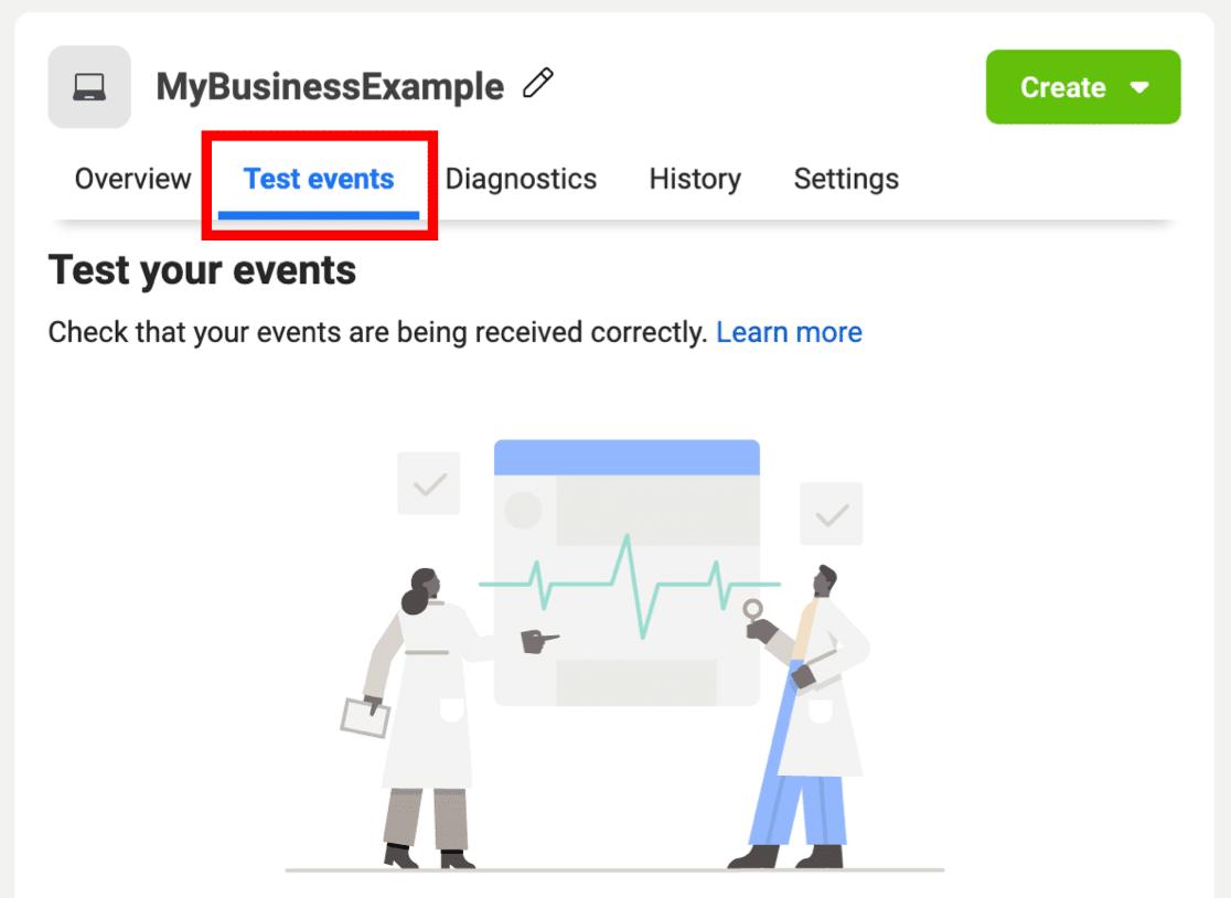 Text Events after installing Facebook Pixel plugin