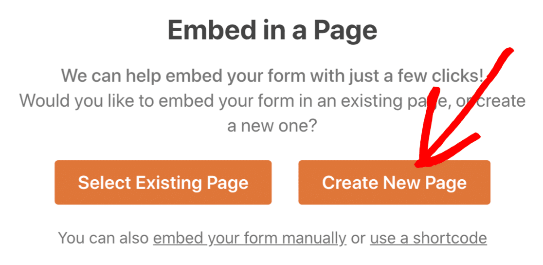 Embed user submitted post form in WordPress