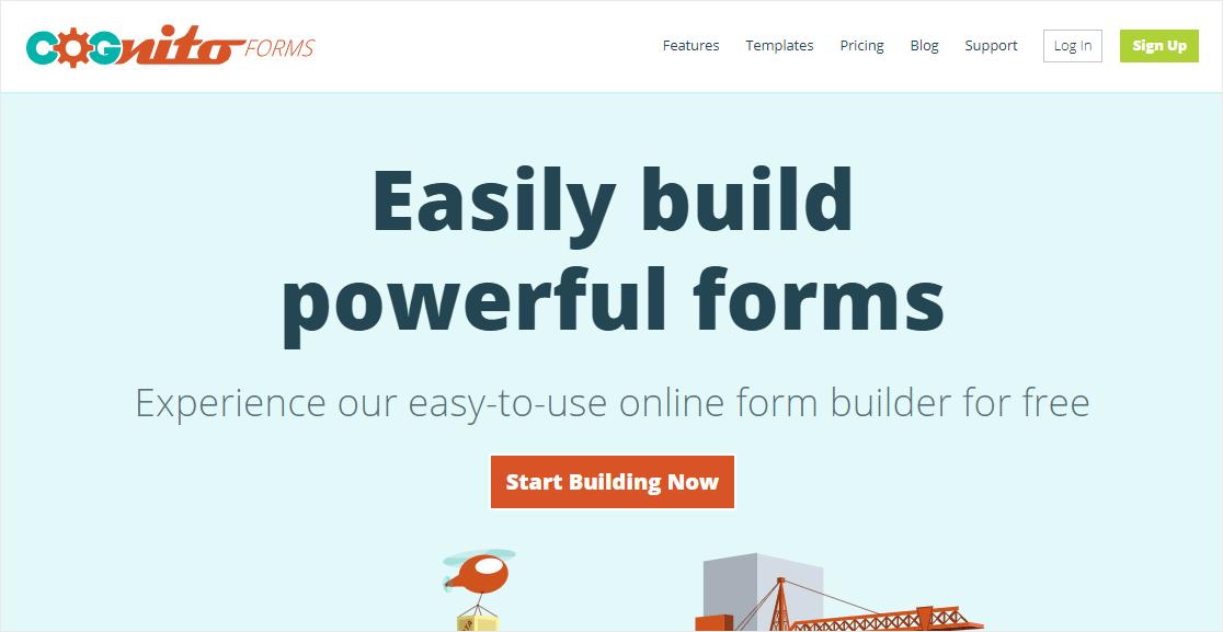cogntio forms is it the best online form builder