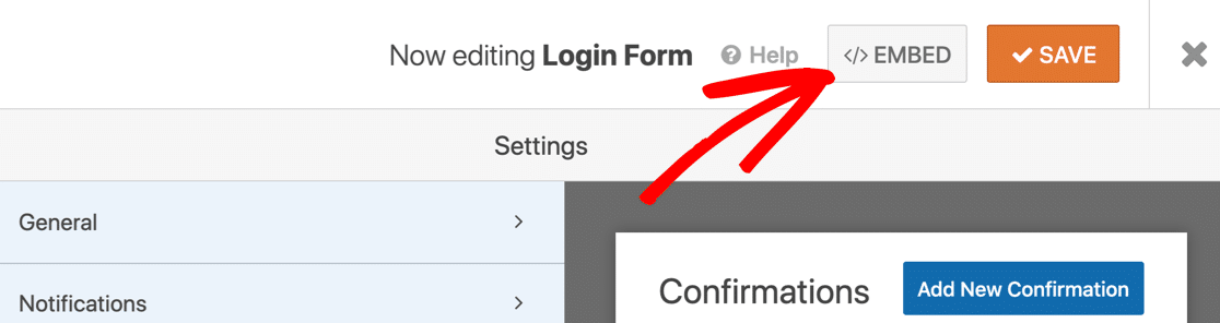 Embed your login form in a custom login page