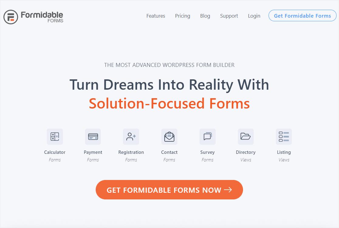 formidable forms online form builder