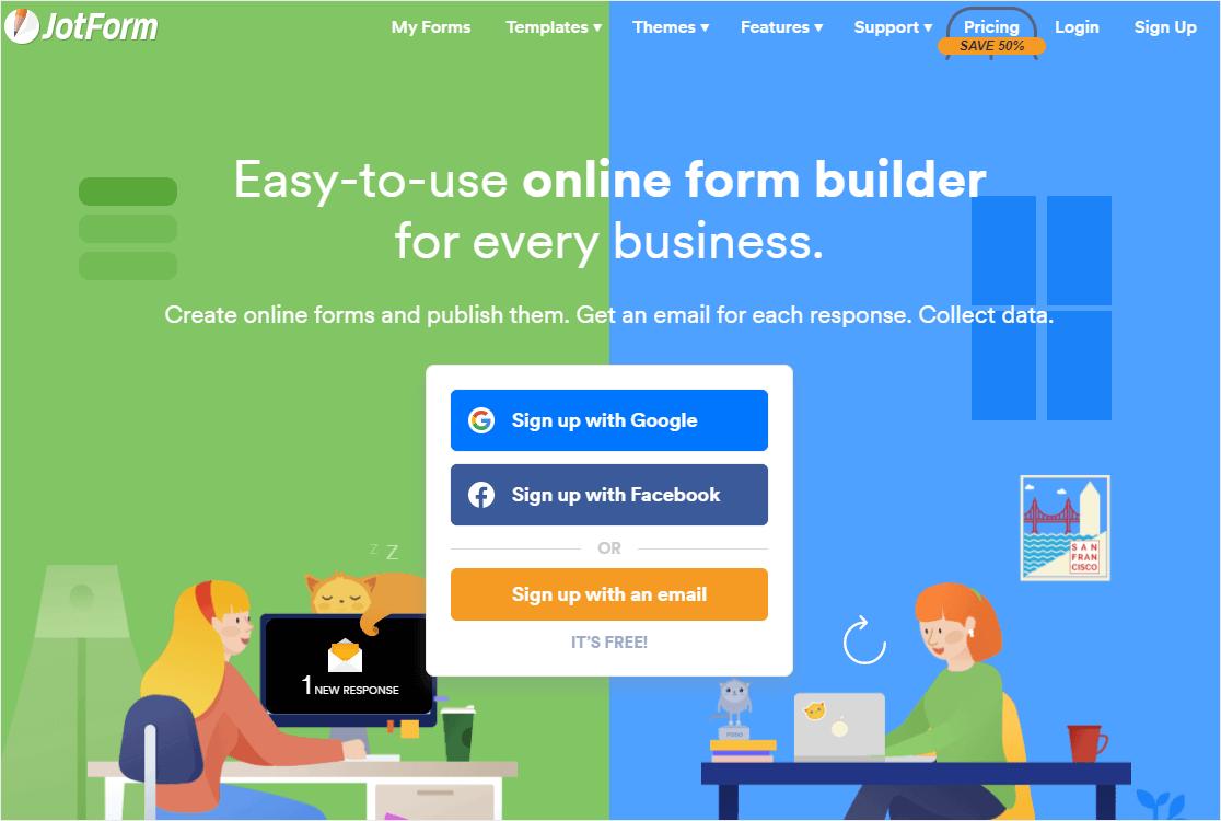 jotform online form builder