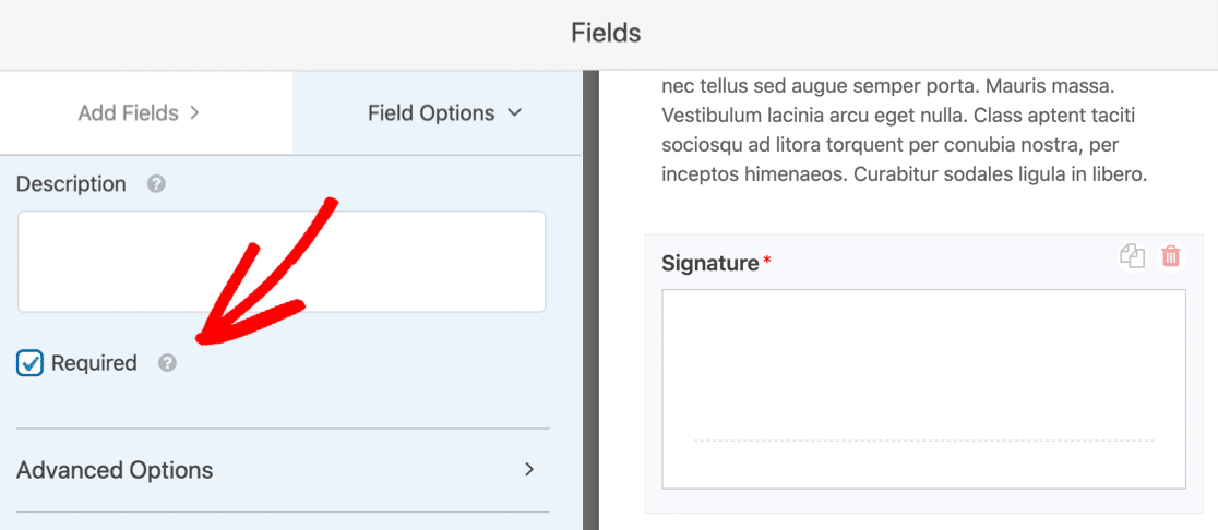 E-signature on online model release form