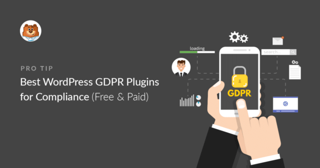 WordPress GDPR plugins