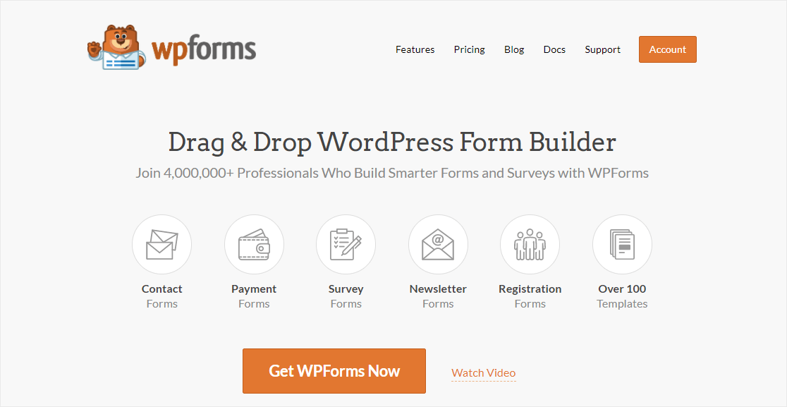 wpforms best paypal integrations