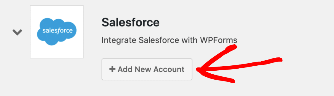 Add New Salesforce Account
