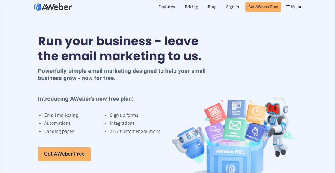 aweber email marketing with paypal