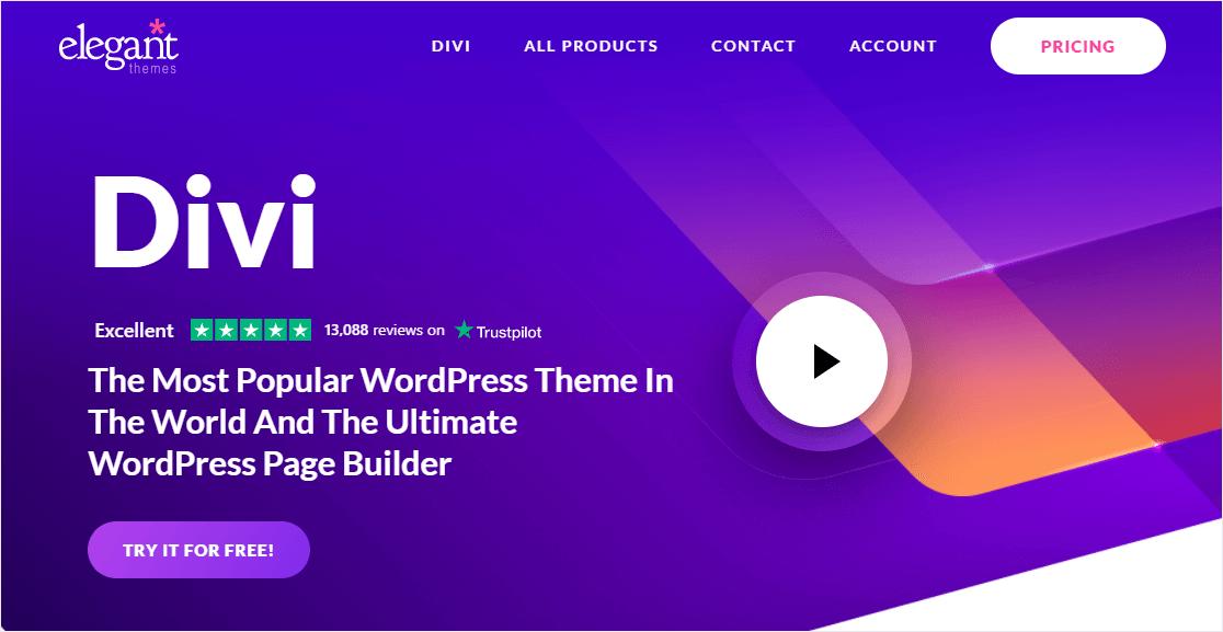 divi builder wordpress paypal integrations