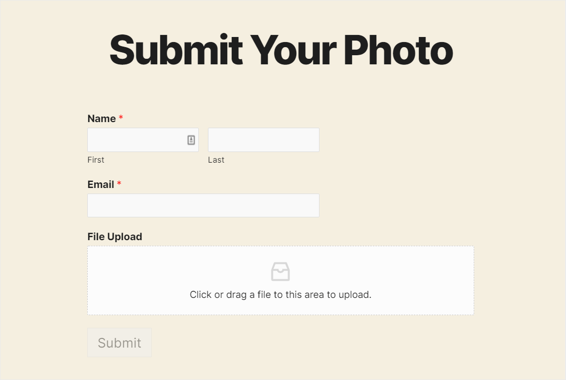 file upload form wpforms review