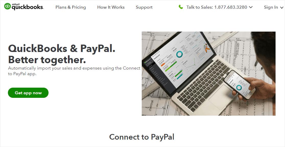 quickbooks paypal integrations