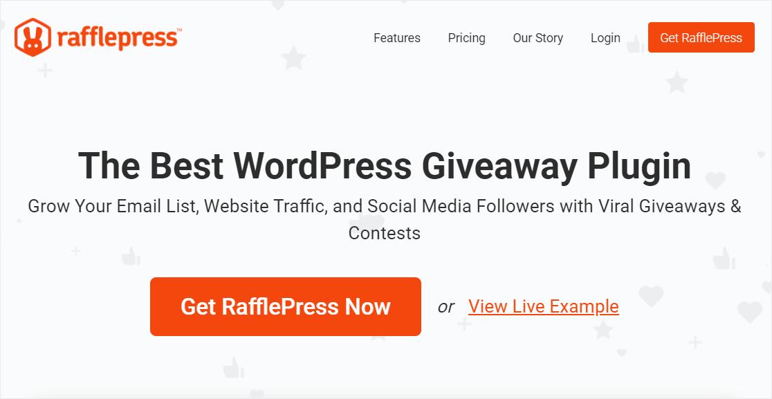 rafflepress aweber integrations