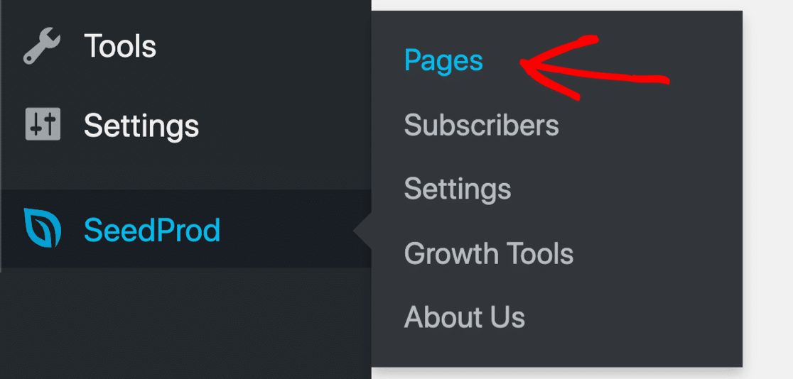 Add pages in SeedProd