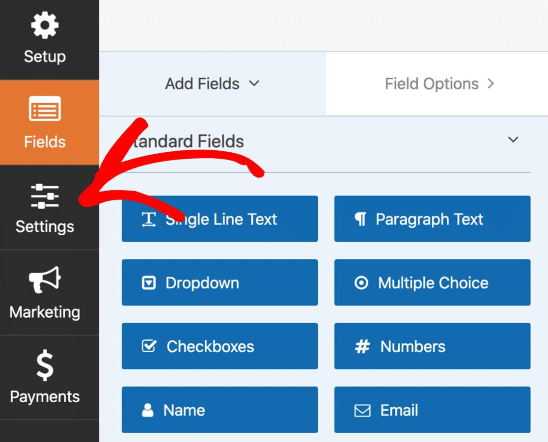 Edit SendFox WordPress newsletter signup form settings