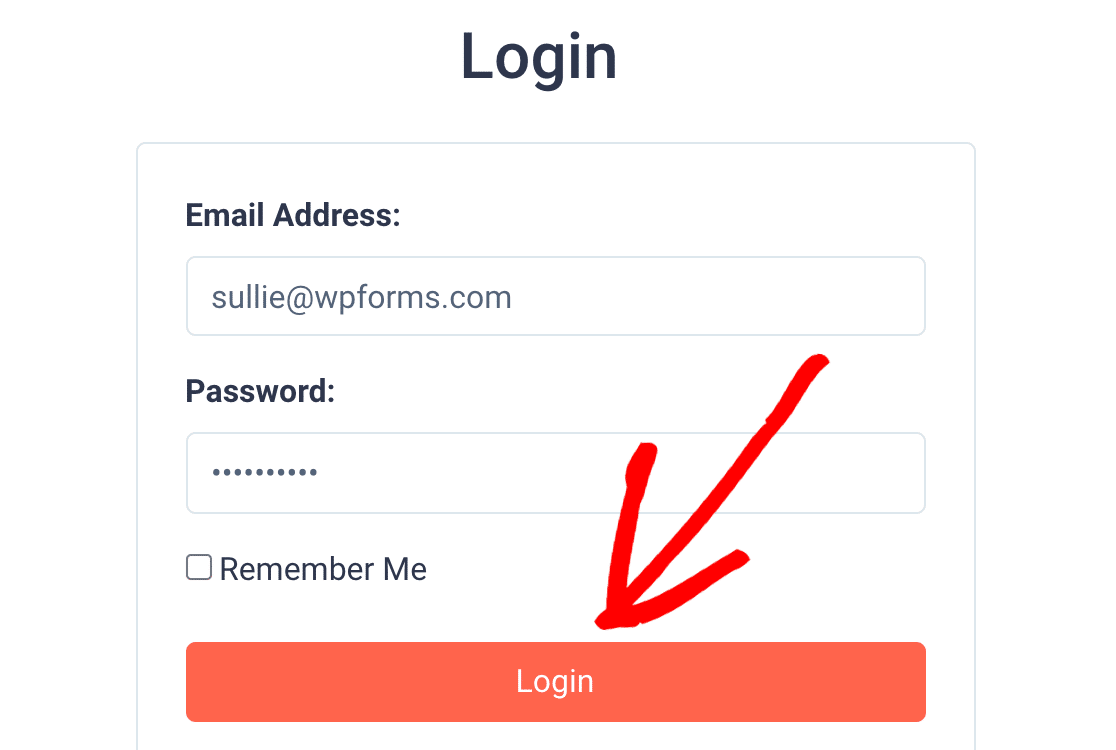 Log in to SendFox