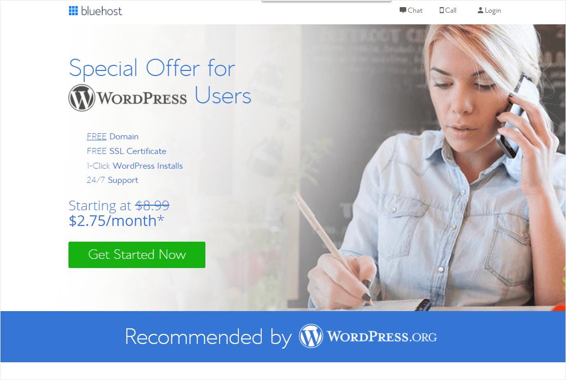 wordpress bluehost paypal integrations