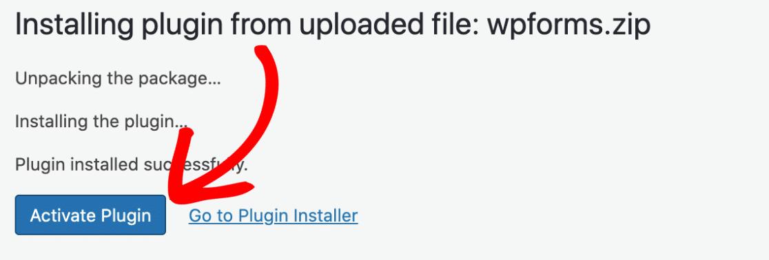 Activate Plugin in WP.com