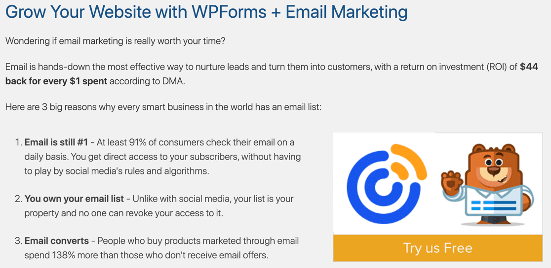 Constant Contact and WPForms Lite