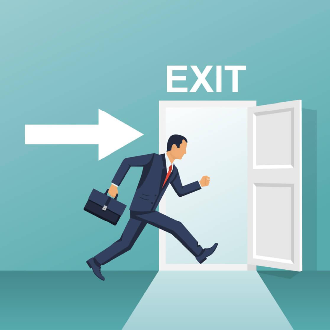 exit survey employee quitting