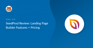 seedprod-review-landing-page-builder-features-plus-pricing