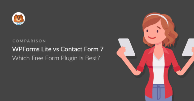 WPForms Lite vs Contact Form 7