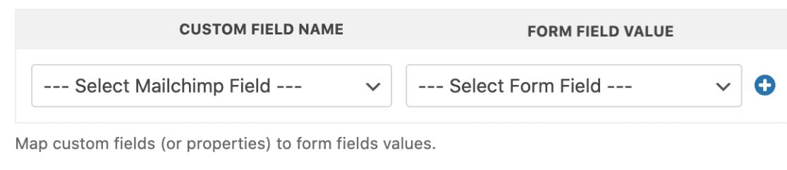 Mailchimp-custom-fields